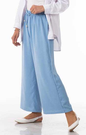 Algı - Beli Lastikli Salaş Pantolon Alg2045-3 (1)